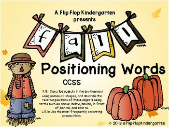 Fall Positioning Words Powerpoint