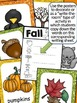 Fall Posters & Writing Activity Sheets