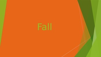 Fall Powerpoint Lesson