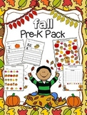 Fall Pre-K Pack