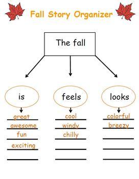 Fall Pre-Writing Strategy