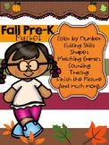Fall PreK Packet