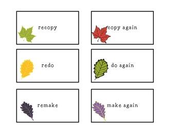 Fall Prefix Memory
