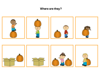 Interactive Fall Preposition Pack