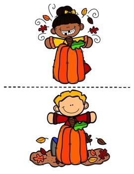Fall Preposition and Pronoun Interactive Book