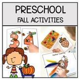 Fall Preschool Activities and Centers | Fall Pumpkin Activities