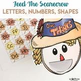 Fall Preschool Activity - Feed the Scarecrow
