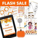Fall Preschool Bundle