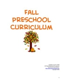 Fall Preschool / Kindergarten Curriculum