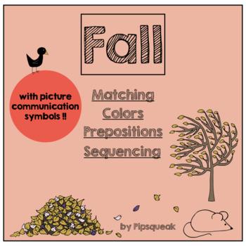 Fall Preschool Interactive Language Activities
