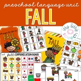Fall Preschool Language Unit