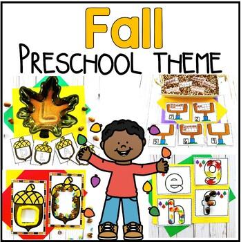 Fall Preschool / PreK Learning Pack