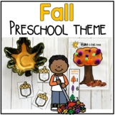 Fall Preschool / PreK Theme Pack