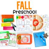 Fall Preschool Theme   PreK Centers, Morning Work Tubs, Ta
