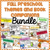 Fall Preschool Themes and Book Companions Bundle