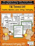 Fall Preschool Unit