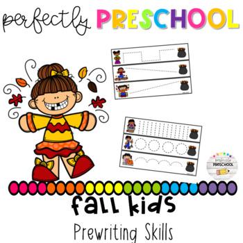 Fall Kids Prewriting Skills