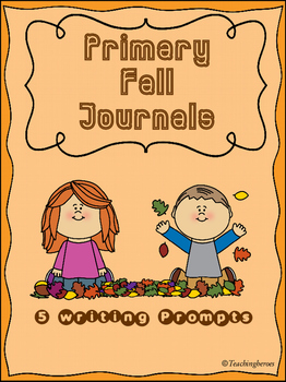 Primary Fall Writing Prompts {5 Journals}