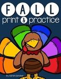 Fall/Autumn NO PREP Practice
