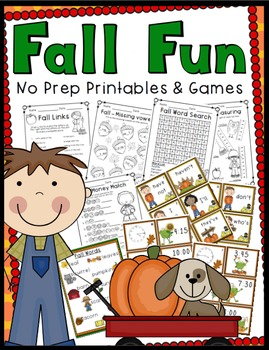 2nd Grade Fall Activities