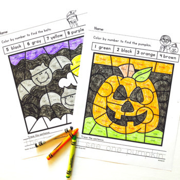 Halloween Activities: Math and Literacy Printables