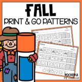 Fall Pattern Printables