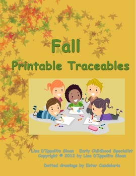 Fall Printable Traceables