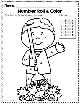 Fall Math & Literacy Printables