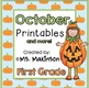 Fall Printables (BUNDLE) - First Grade Literacy, Math, and
