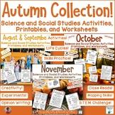 Fall Science and Social Studies Bundle