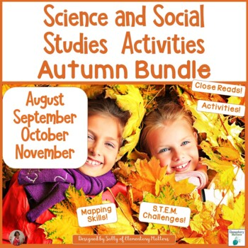 Fall Science and Social Studies Bundle