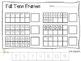 Fall Printables {ELA and Math}