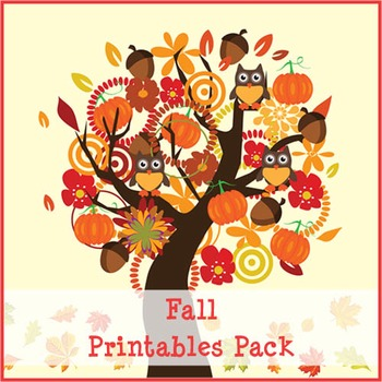 Fall Printables Pack