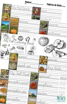 Fall Printables for Kids Bundle 1 by The Natural Homeschool