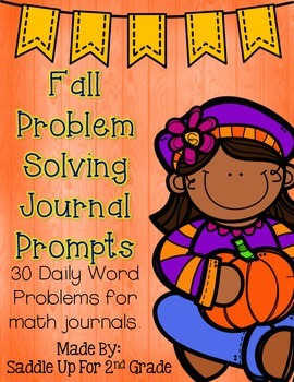 Fall Problem Solving Journal Prompts
