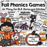 Autumn/Fall/Halloween ELA Games and Activities