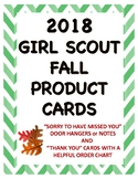 Fall Product Door Hangers And Thank You Cards