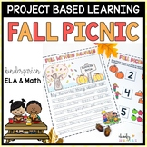 Fall Project Based Learning September - Kindergarten