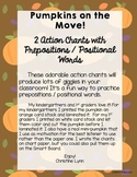 Fall Pumpkin Action Chants - Prepositions / Positional Words