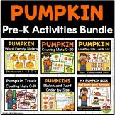 Fall Pumpkin Activities Bundle for Preschool