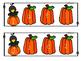 Fall Pumpkin Alphabet Match Clip Cards