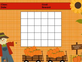 Fall Pumpkin Classroom Behavior Management System *PowerPoints