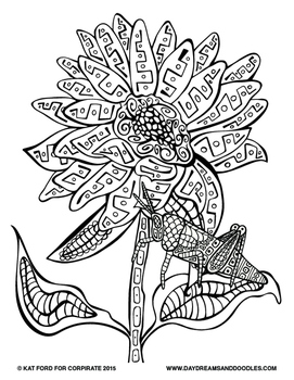 Fall Coloring Pages: Daydreams And Doodles