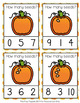 Fall Pumpkin Count and Clip Cards Numbers 0-10