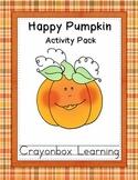 Fall Pumpkin Fun - Learning Centers