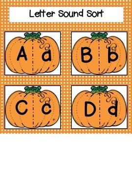 Fall Pumpkin Literacy Packet