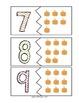 Fall Pumpkin Matching Numbers 0-10