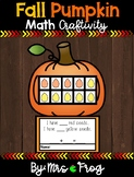 Fall Pumpkin Math Craftivity