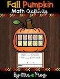 Fall Pumpkin Math Craftivity