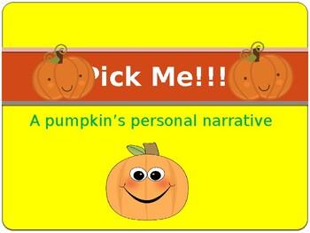 Fall Pumpkin Narrative